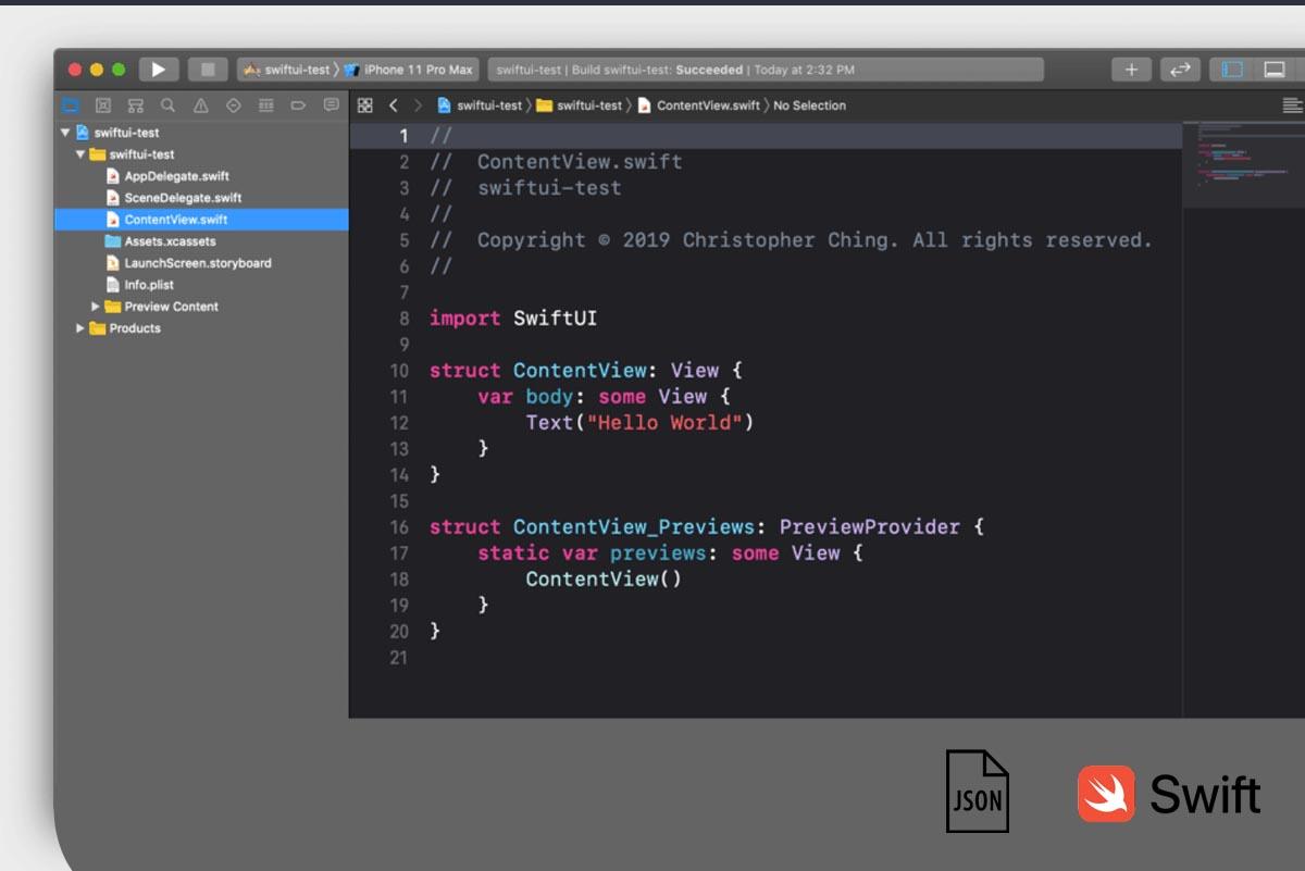 Web service JSON POST Swift